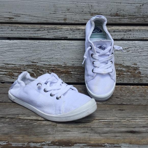 Roxy Shoes | Roxy Bayshore White Slip